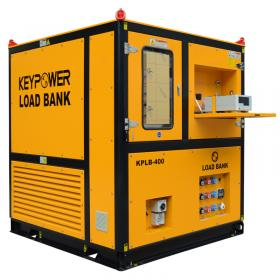 KEYPOWER Resistive 400 kW Generator Load Bank Test to Singapore