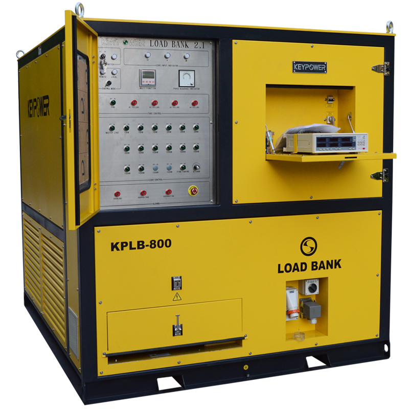 KEYPOWER 800 kW Resistive Load Bank Price for Generator Testing