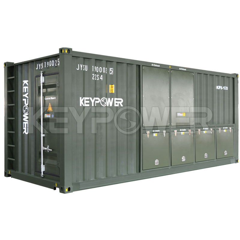 1250KVA KEYPOWER Inductive-Resistive Load Bank for POLAND