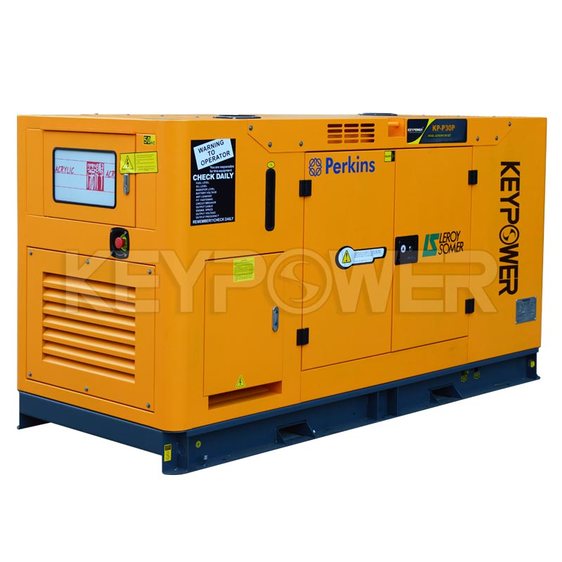 KEYPOWER 30 kVA Diesel Generator Powered by Perkins with Digital Controller