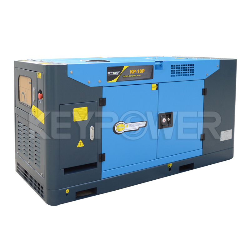 Ricardo 10 kVA Diesel Generator set with 6120 Digital Controller