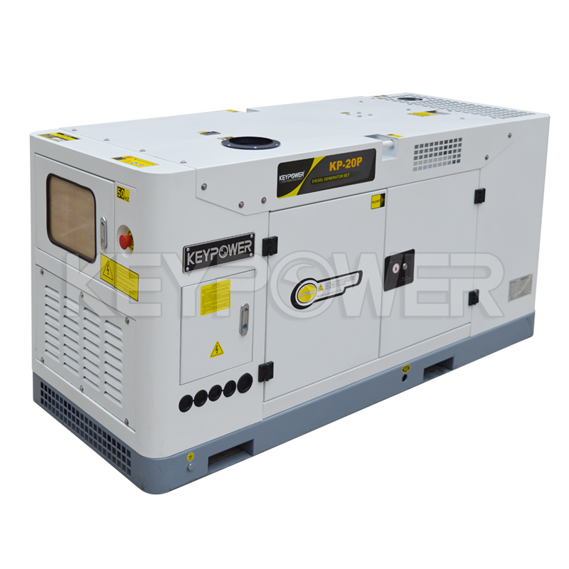 Silent Type Diesel Generator 20 kVA with Chinese Engine 4DW91