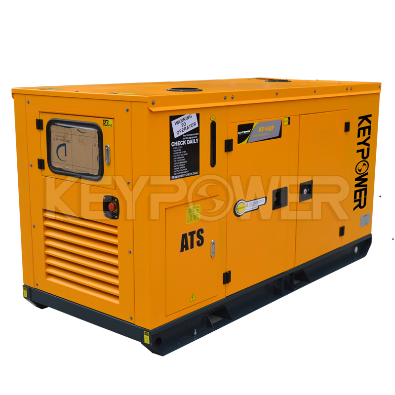 60 kVA FAW Soundproof Diesel Generator Powered by 4DW23-78D-HMS20W
