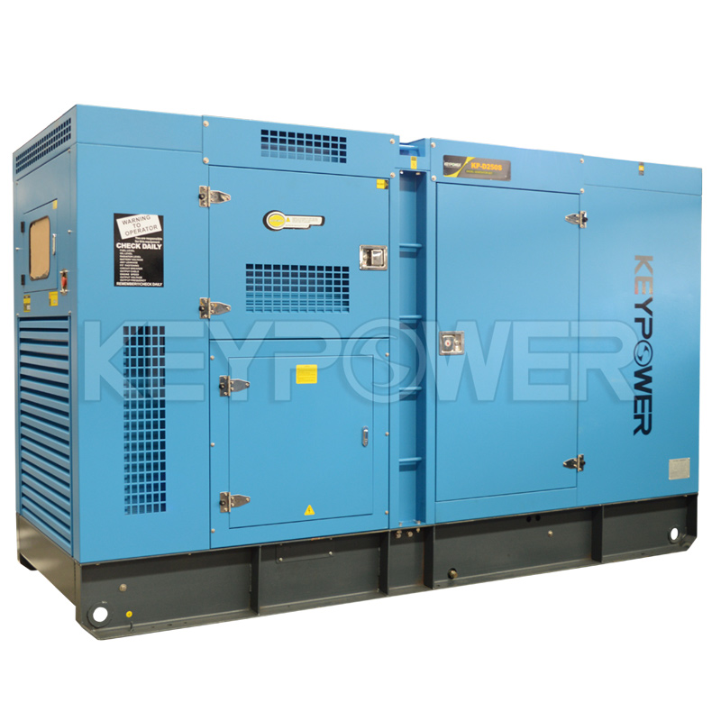 250 kVA Power Generators Powered by DOOSAN Engine with 6120 Genset Control