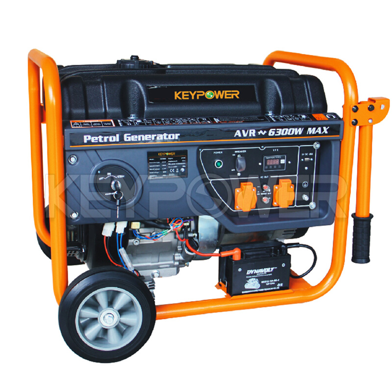 6300 w Gasoline Portable Generator with EPA Certificate
