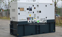 KEYPOWER assembled of EPA Tier 4 Perkins engine for USA