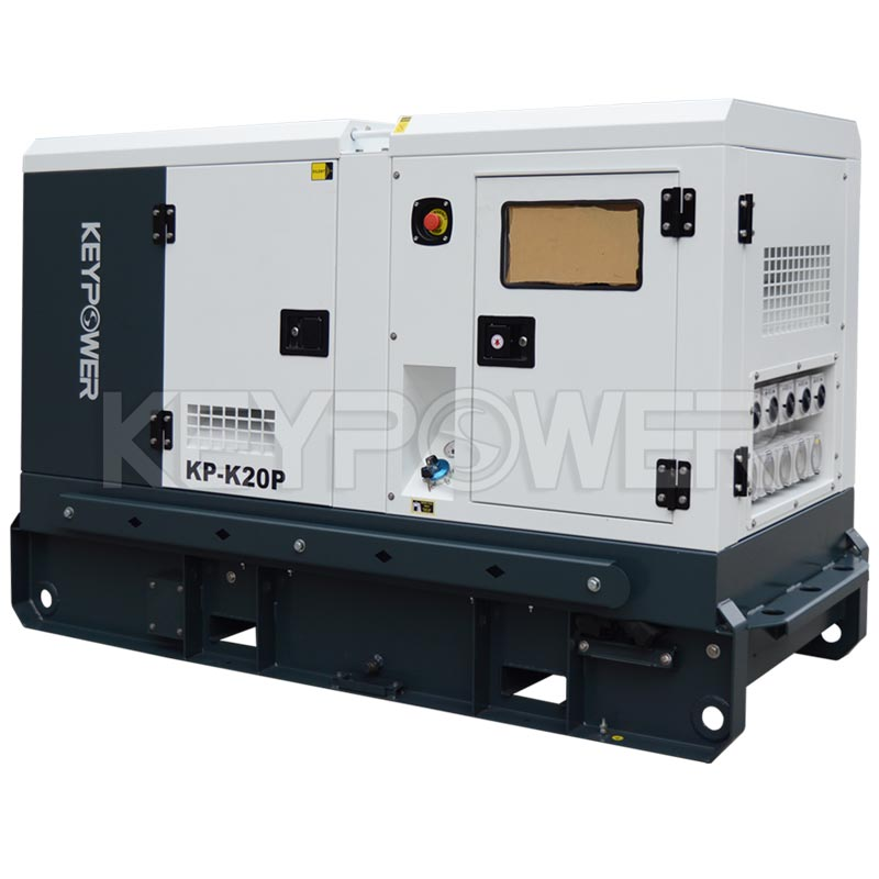 AC 20 kVA Rental Type Diesel Generator set with Canopy ,Low Noise