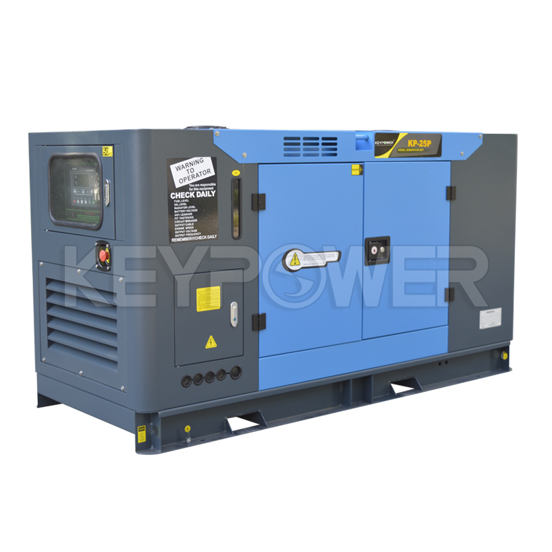 Foton Diesel Genset AC 3 Phase 30 kVA with Conpy Silent Type
