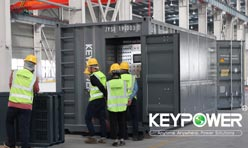KEYPOWER 2000kw/2500kva resistive combined reactive load bank