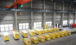 19 units of soundproof generators are ready for delivery to our dealer.